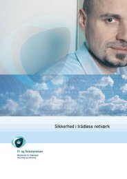 Sikkerhed i trådløse netværk - talvan.dk