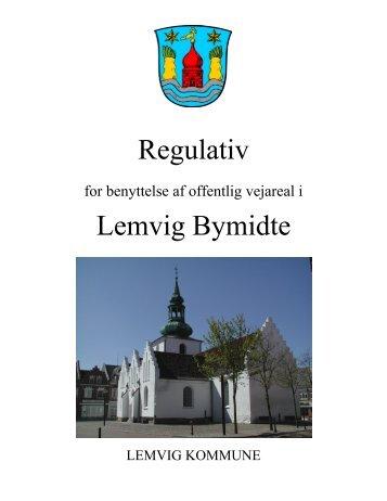 Læs gågaderegulativet her - Lemvig Kommune