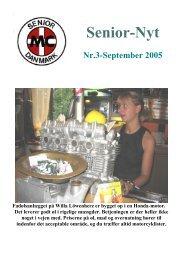 Nr.3 September. - Senior MC Danmark
