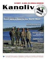 Horton 2009 STORT VAND - tæt på - Dansk Kano Ekspeditions Klub