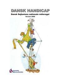 Dansk Handicap - Dansk Sejlunions nationale ... - Kapsejler.dk