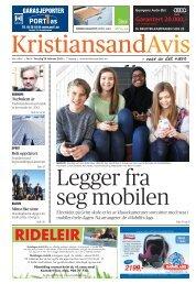 Kristiansand Avis 28. februar 2013 - IMAGING by FotoPhono