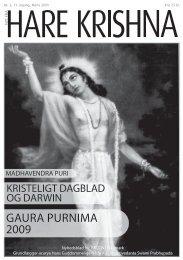 GAURA PURNIMA 2009 - Nyt fra Hare Krishna