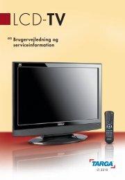 LCD-TV - Targa Service Portal