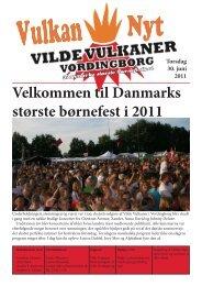 Velkommen til Danmarks største børnefest i 2011 - Vilde Vulkaner ...