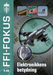 Nr. 4: Elektronikkens betydning - Forsvarets forskningsinstitutt