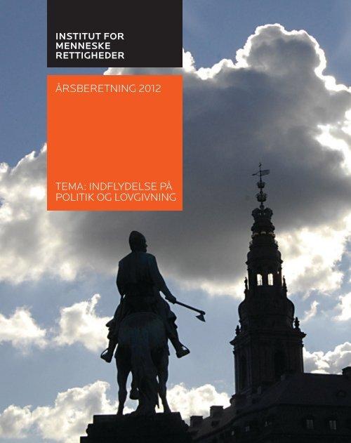 Download årsberetningen for 2012 her. - Institut for ...