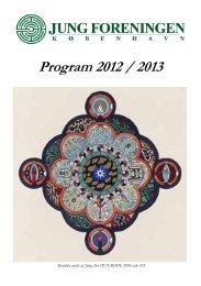 Program 2012 / 2013 - CG Jung i Danmark