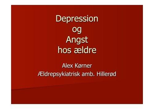depression svimmelhed