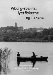 Jubilæumsskrift - Viborg Fiskeriforening