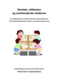 Samtale, refleksion og anerkendende relationer - Kurser med ...