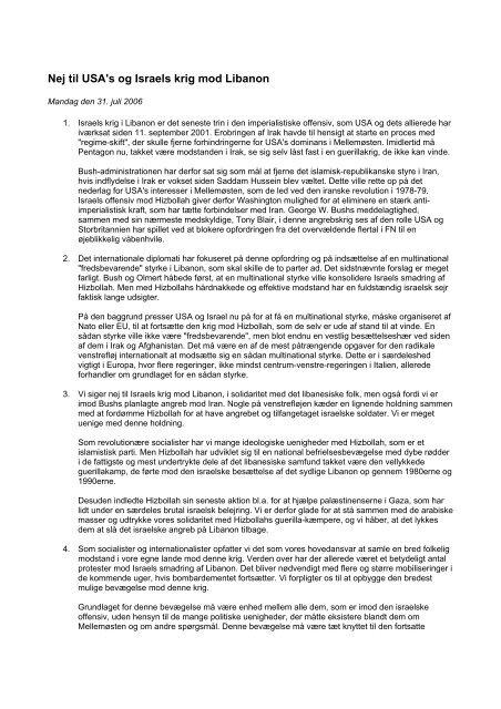 PDF-format - Internationale Socialisters Ungdom
