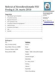 Referat af hovedkredsmødet 2010