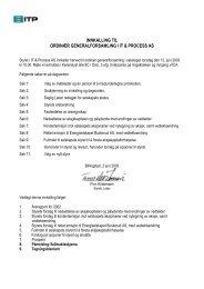 Innkalling til ordinær generalforsamling i ITP.pdf - Netfonds