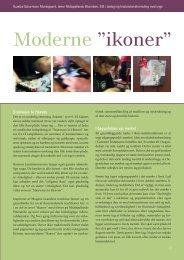 """Moderne """"ikoner"""" af Suzette Schurmann ... - Kirken Underviser"""