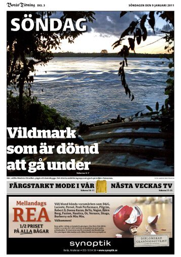 BT Söndag med nästa veckas TV (pdf) - Borås Tidning