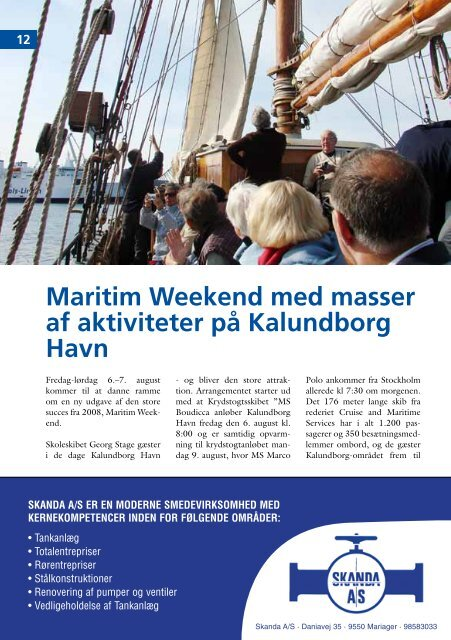 Fuld Kraft Frem, Maj - Kalundborg Havn