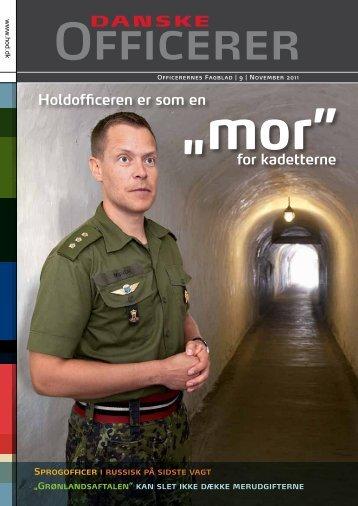 Holdofficeren er som en - Hovedorganisationen af Officerer i Danmark