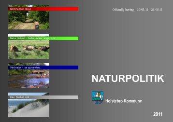 naturpolitik - Holstebro Kommune