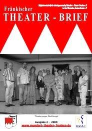Theater-Brief 2-2009