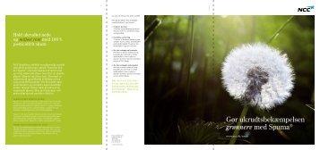 Hent brochuren om Spuma (pdf) - NCC