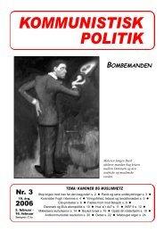 Kommunistisk Politik 3, 2006