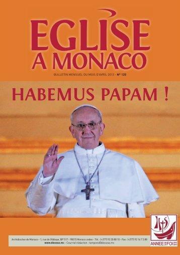 avril 2013 - Diocèse de Monaco