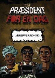 Download lærervejledning - Præsident for en dag
