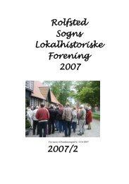 Folder 2007/2 - Rolfsted Sogns Lokalhistoriske Forening