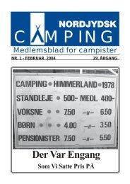 NC-Blad 2004-1 - Nordjydsk Camping
