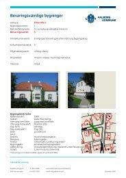 Elme Alle. SAVE. Lokalplan 05-078 - Aalborg Kommune