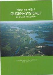 Natur og miljø i Gudenåsystemet - Gudenåkomiteen