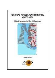 RKU Nordsjøen - Kilder til forurensning - Norsk olje og gass