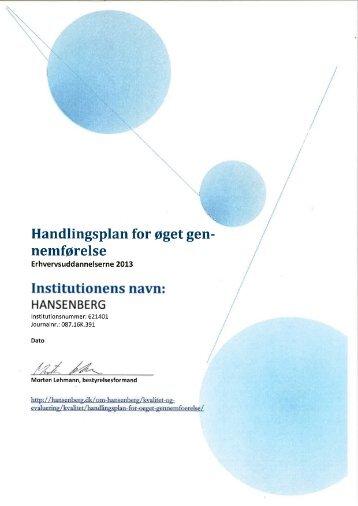 2013 - Hansenberg