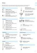 Katalog & prisliste med begrenset sortiment av lyskilder og ... - Page 7