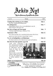 30 2009-2 (PDF) - Vinderup Egnshistoriske Forening
