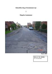Bilag 1 Notat vejklasser i Slagelse Kommune