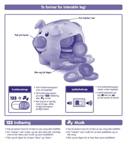 Learning Piggy Bank™ - Fisher Price
