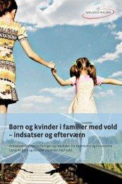 Børn og kvinder i familier med vold – indsatser og ... - Servicestyrelsen
