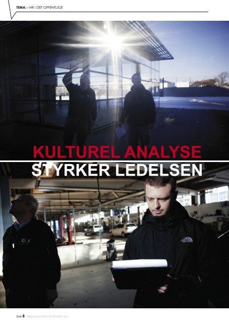 KULTUREL ANALYSE STYRKER LEDELSEN - e-stimate