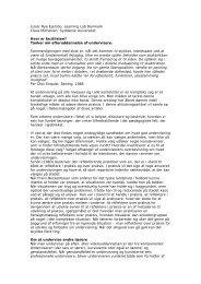 Hvor er facitlisten - Syddansk Universitet