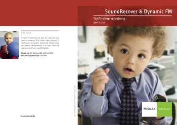 Troubleshooting Guide - SoundRecover And Dynamic FM - Phonak