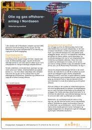 Olie- og gas-offshoreanlæg i Nordsøen - Energistyrelsen