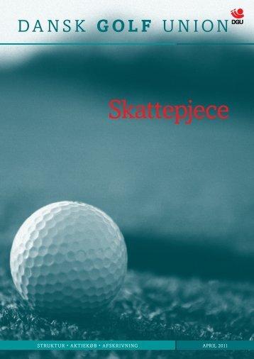 Skattepjece for klubber - Dansk Golf Union