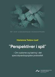 """Perspektiver i spil"""" - Institut for Uddannelse og Pædagogik (DPU)"""