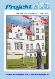 Nr. 179 - September - oktober 2010 - Projekt Øst