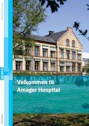 Pjece 'Velkommen til Amager Hospital'