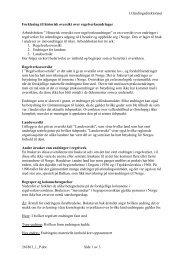 Forklaring til historisk oversikt over regelverksendringer - UDI