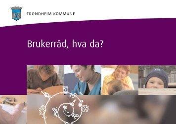 Brukerråd, hva da? - Trondheim kommune