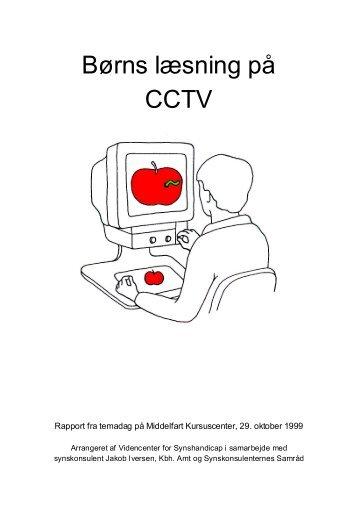 Børns læsning på CCTV - Servicestyrelsen